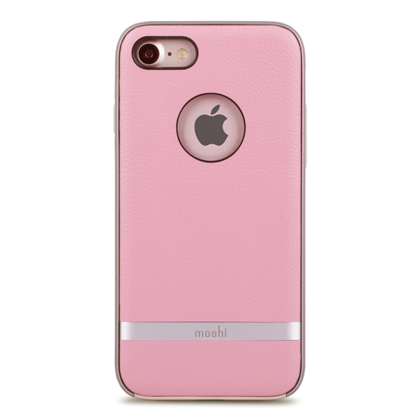 Чехол для iPhone Moshi для iPhone 7 Napa Melrose Pink (99MO088302) чехол для iphone moshi для iphone 7 napa charcoal black 99mo088003