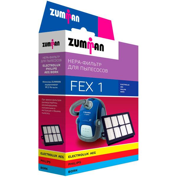 Фильтр для пылесоса Zumman FEX1 фильтр для пылесоса zumman fsm20
