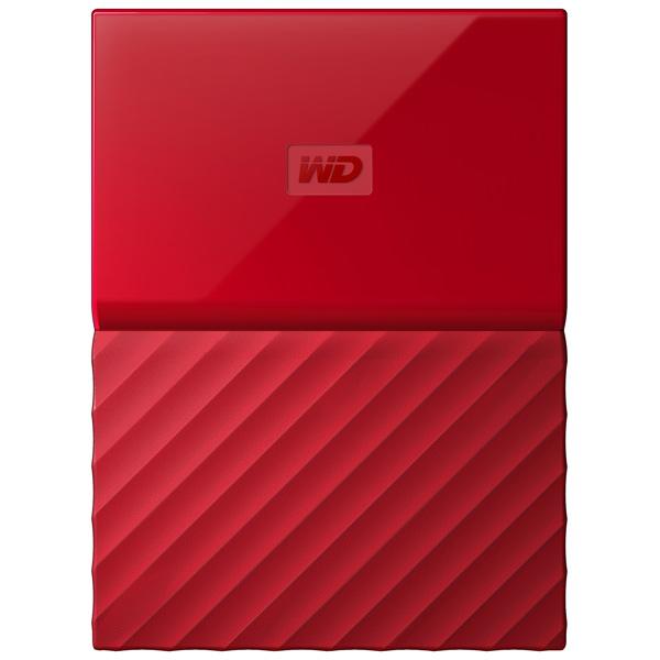 "Внешний жесткий диск 2.5"" WD My Passport 4Tb Red (WDBUAX0040BRD-EEUE)"