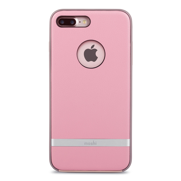 Чехол для iPhone Moshi iGlaze Napa Melrose Pink (99MO090303) чехол для iphone moshi iglaze napa charcoal black 99mo090003