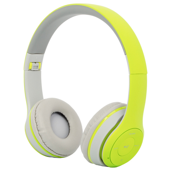 Наушники Bluetooth с MP3 Harper — HB-212 Green