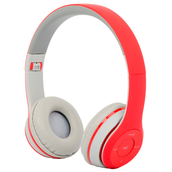 Наушники Bluetooth с MP3 Harper HB-212 Red