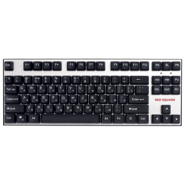 Игровая клавиатура Red Square Old School Red (RSQ-21001) клавиатура red square tesla tkl rgb rsq 20008