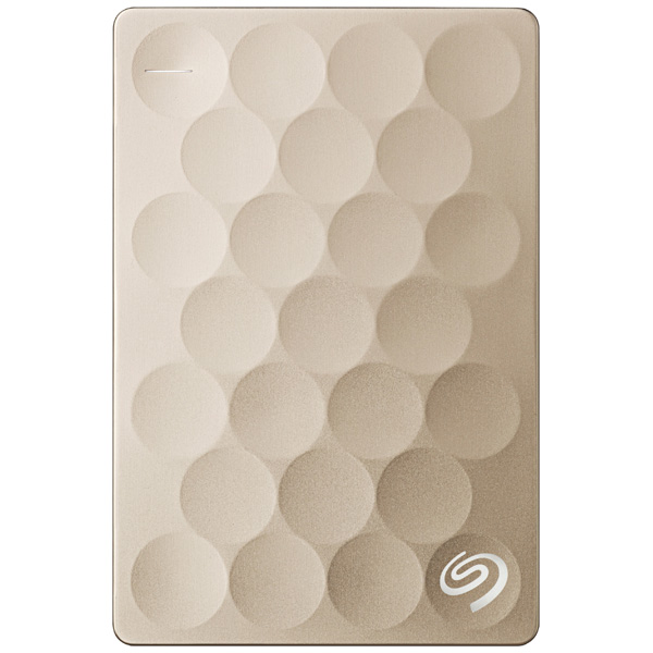 Внешний жесткий диск 2.5 Seagate Backup Plus Ultra Slim 2TB Gold (STEH2000201) встраиваемая акустика speakercraft profile accufit ultra slim one single asm53101 2