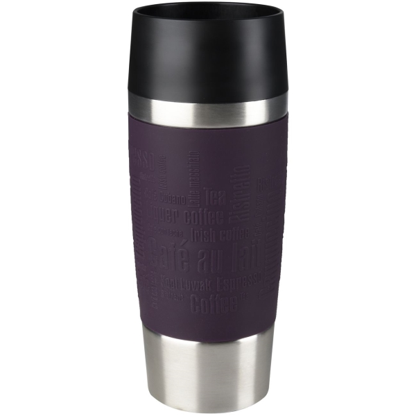 Термокружка Emsa Travel Mug 0,36L Violet (513359) термокружка emsa travel mug 0 36l blue 513552