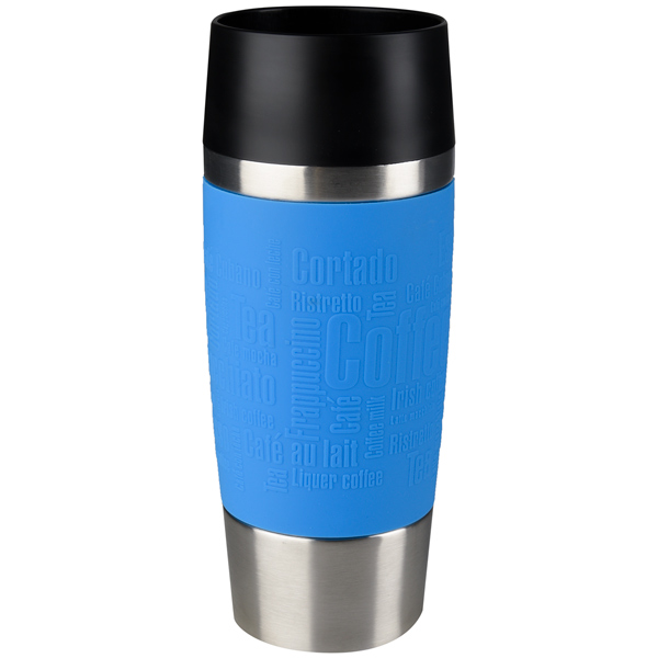 Термокружка Emsa Travel Mug 0,36L Blue (513552) термокружка emsa travel mug fun 0 36l black 514179