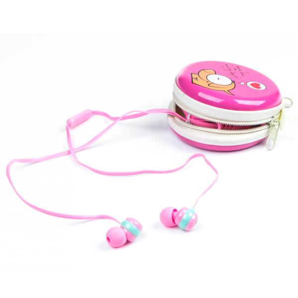 Наушники внутриканальные Harper — Kids HK-39 Pink