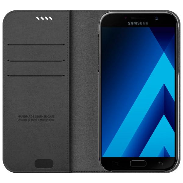 Чехол для сотового телефона Araree для Samsung A7 (2017) Charcoal Gray (AR10-00217B) manitobah унты kanada mukluk мужск 8 charcoal св серый