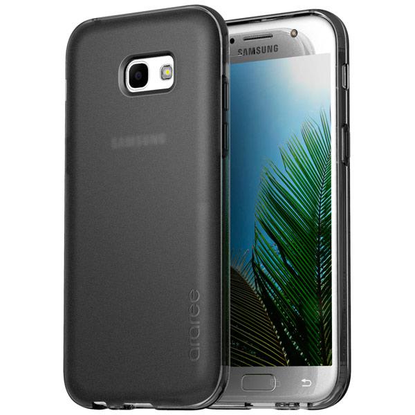 Чехол для сотового телефона Araree для Samsung A3 (2017) Black (AR20-00204A) чехол для сотового телефона takeit для samsung galaxy a3 2017 metal slim металлик
