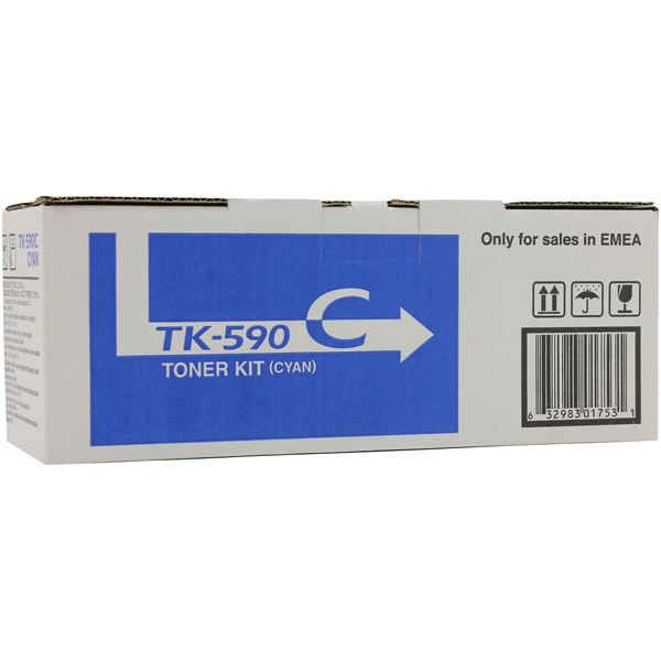 Картридж для лазерного принтера Kyocera TK-590C