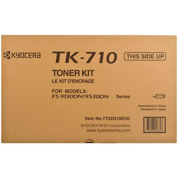 Картридж для лазерного принтера Kyocera TK-710 картридж для лазерного принтера hp 33a cf233a