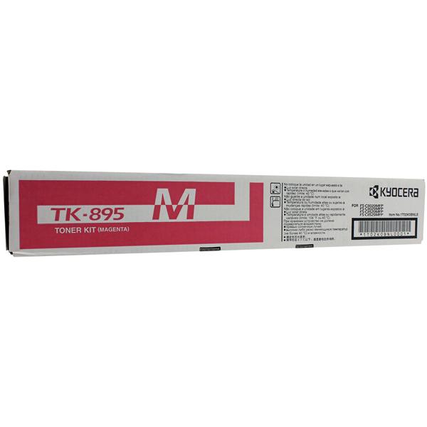 Картридж для лазерного принтера Kyocera TK-895M картридж для лазерного принтера kyocera tk 895m