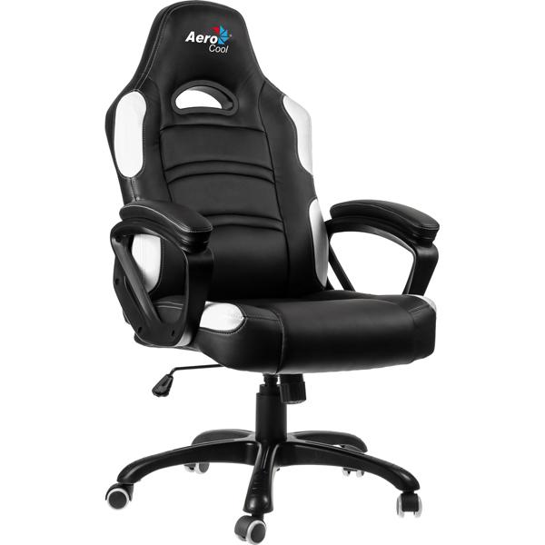 Aerocool, Кресло компьютерное игровое, AC80C-BW