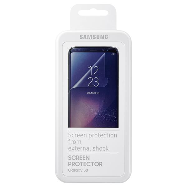 Плёнка для сотового телефона Samsung Galaxy S8 (ET-FG950CTEGRU) predstavlennoe sk hynix 8 gigabaitnoe ozy dlia galaxy s8 i iphone 8 2
