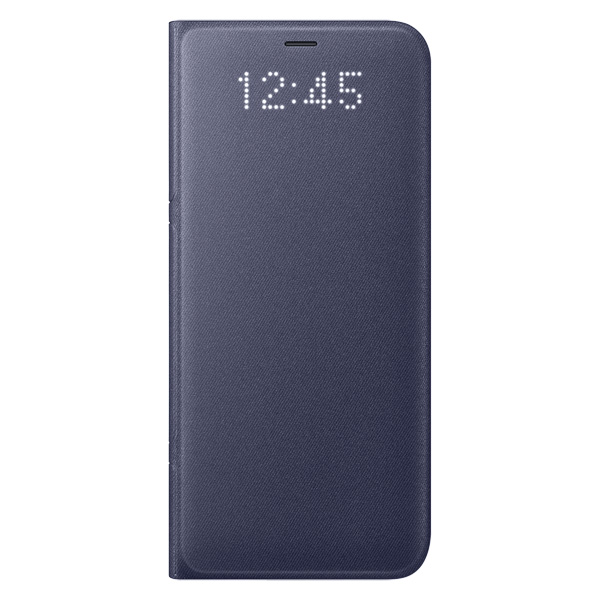 Чехол для сотового телефона Samsung Galaxy S8 LED View Cover Violet (EF-NG950PVEGRU) чехол книжка samsung led view cover для samsung galaxy s8 голубой ef ng950plegru