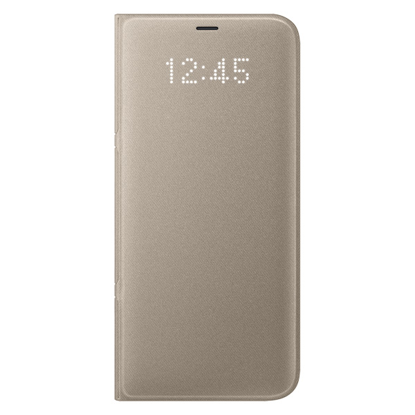 все цены на Чехол для сотового телефона Samsung Galaxy S8+ LED View Cover Gold (EF-NG955PFEGRU) онлайн