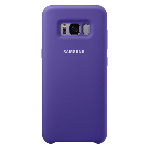 Чехол для сотового телефона Samsung Galaxy S8 Silicone Violet (EF-PG950TVEGRU) чехол клип кейс samsung alcantara cover для samsung galaxy s8 розовый [ef xg950apegru]
