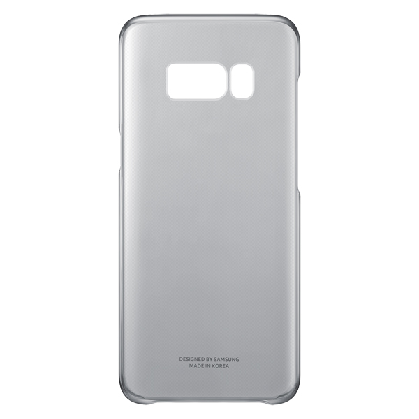 Чехол для сотового телефона Samsung Galaxy S8 Clear Cover Black (EF-QG950CBEGRU) аксессуар чехол samsung galaxy s8 plus silicone cover purple ef pg955tvegru
