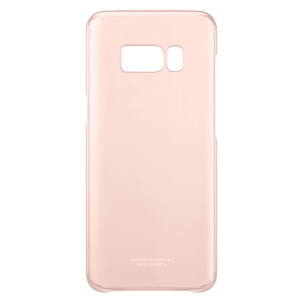 Чехол для сотового телефона Samsung Galaxy S8 Clear Cover Pink (EF-QG950CPEGRU) чехол клип кейс samsung clear cover great для samsung galaxy note 8 темно синий [ef qn950cnegru]