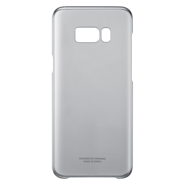 Чехол для сотового телефона Samsung Galaxy S8+ Clear Cover Black (EF-QG955CBEGRU) аксессуар чехол samsung galaxy s8 plus silicone cover purple ef pg955tvegru