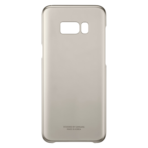 Чехол Samsung Galaxy S8+ Clear Cover Gold (EF-QG955CFEGRU)