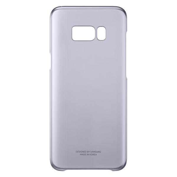 Чехол для сотового телефона Samsung Galaxy S8+ Clear Cover Violet (EF-QG955CVEGRU) чехол для сотового телефона samsung galaxy s8 led view cover violet ef ng955pvegru