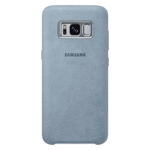 Чехол для сотового телефона Samsung Galaxy S8 Alcantara Mint (EF-XG950AMEGRU) клип кейс samsung alcantara cover ef xg955a для galaxy s8 темно серый