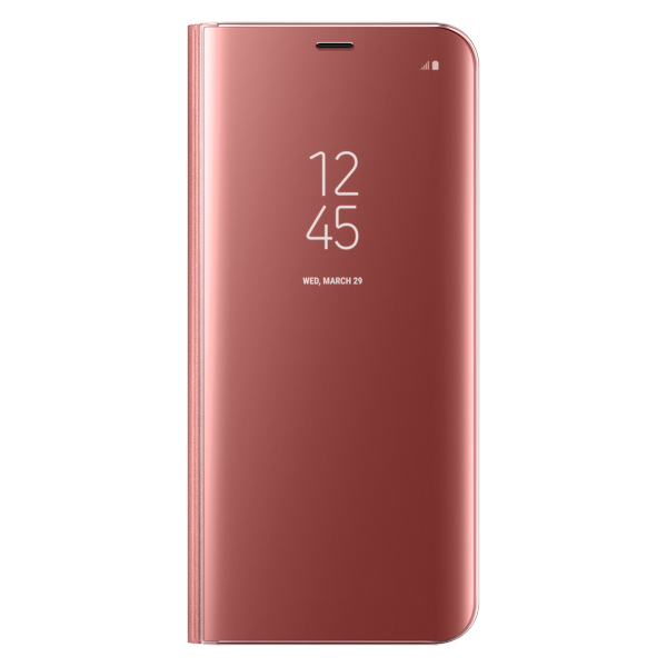 Чехол для сотового телефона Samsung S8+ Clear View Standing Pink (EF-ZG955CPEGRU) samsung ef zn950 clear view standing cover great чехол книжка для note 8 dark blue