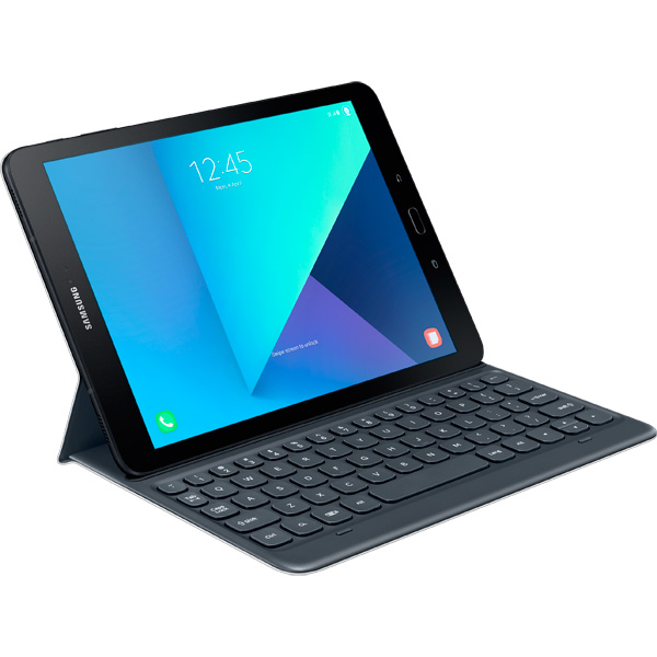 Чехол для планшетного компьютера Samsung Galaxy Tab S3 Keyboard Cover (EJ-FT820BSRGRU) galaxy tab s3 so stilysom s pen v korobke a ne v samom planshete