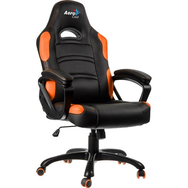 Кресло компьютерное игровое Aerocool AC80C-BO секатор bahco professional цвет черный оранжевый 49 см