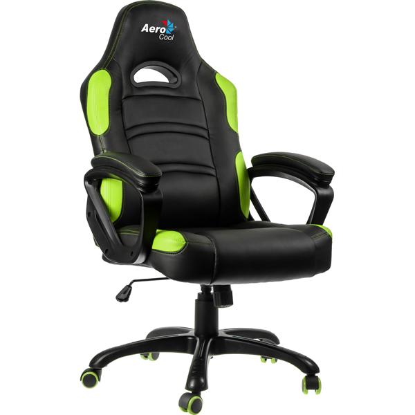 Кресло компьютерное игровое Aerocool AC80C-BG бусы авантюрин зеленый 49 см