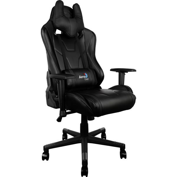 Кресло компьютерное игровое Aerocool AC220-B цена и фото