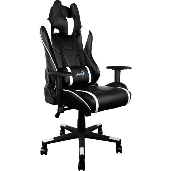 Кресло компьютерное игровое Aerocool AC220-BW цена и фото