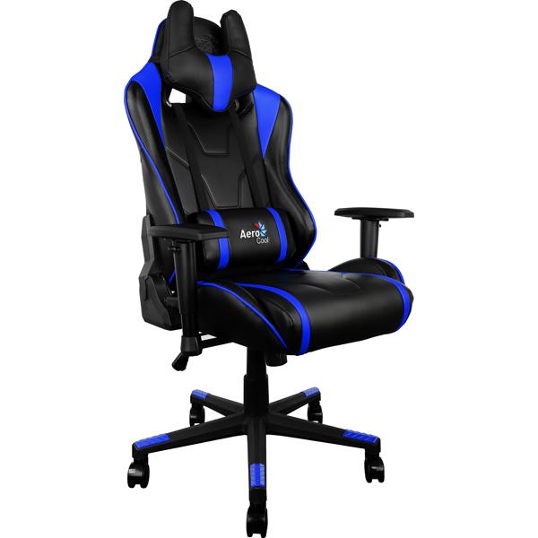 Кресло компьютерное игровое Aerocool AC220-BB цена и фото