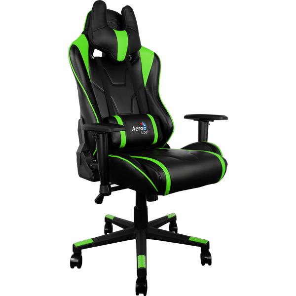Кресло компьютерное игровое Aerocool AC220-BG сиденья водительское для ваз 2112