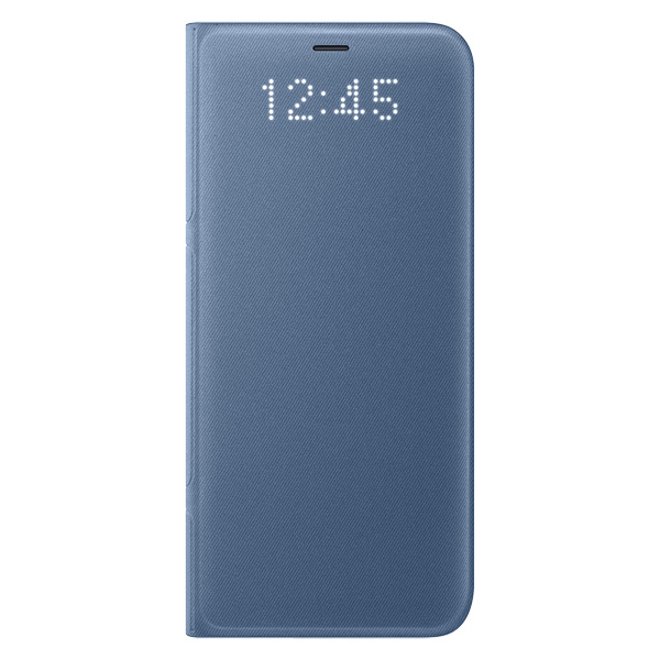 Чехол для сотового телефона Samsung Galaxy S8 LED View Blue (EF-NG950PLEGRU) чехол книжка samsung led view cover для samsung galaxy s8 голубой ef ng950plegru