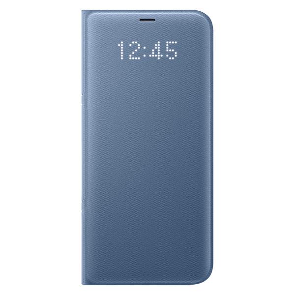 Чехол для сотового телефона Samsung Galaxy S8+ LED View Blue (EF-NG955PLEGRU) чехол для сотового телефона samsung galaxy note 8 alcantara blue ef xn950ajegru