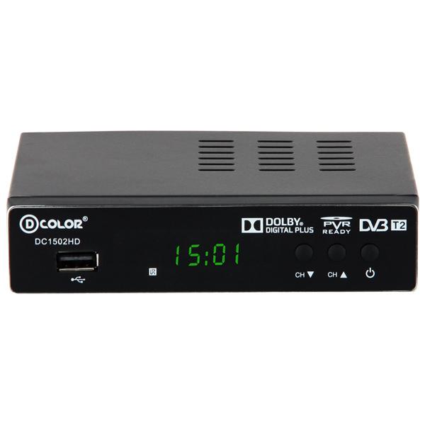 Приемник телевизионный DVB-T2 D-Color