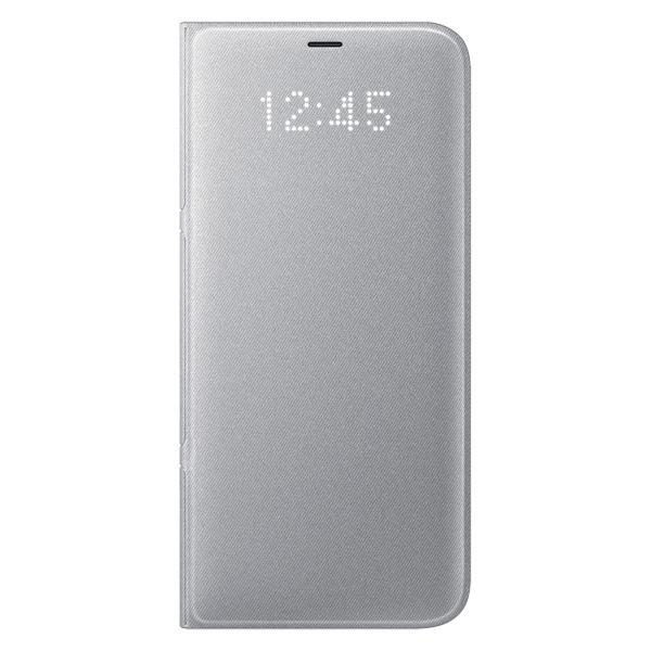 Чехол для сотового телефона Samsung Galaxy S8+ LED View Silver (EF-NG955PSEGRU) чехол для сотового телефона samsung galaxy s8 led view blue ef ng955plegru