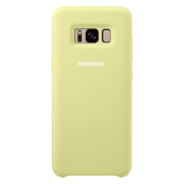 Чехол для сотового телефона Samsung Galaxy S8 Silicone Green (EF-PG950TGEGRU) чехол клип кейс samsung alcantara cover для samsung galaxy s8 розовый [ef xg950apegru]