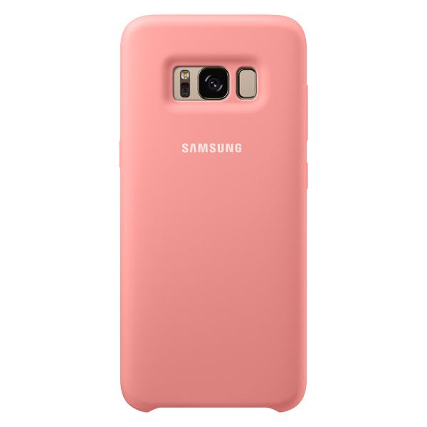 Чехол для сотового телефона Samsung Galaxy S8 Silicone Pink (EF-PG950TPEGRU) клип кейс samsung silicone cover для galaxy s8 зеленый