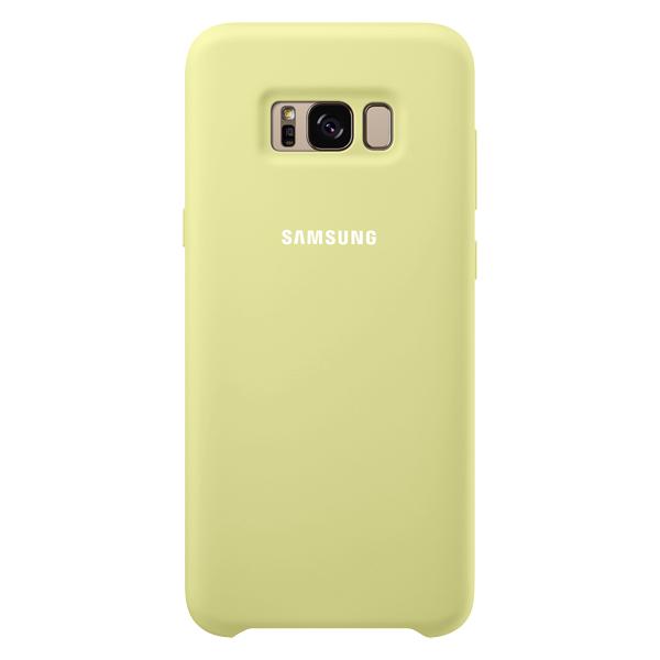 Чехол для сотового телефона Samsung Galaxy S8+ Silicone Green (EF-PG955TGEGRU) чехол клип кейс samsung alcantara cover для samsung galaxy s8 розовый [ef xg950apegru]