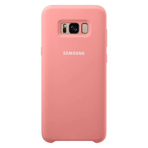 Чехол для сотового телефона Samsung Galaxy S8+ Silicone Pink (EF-PG955TPEGRU) чехол клип кейс samsung silicone cover для samsung galaxy s8 зеленый [ef pg950tgegru]