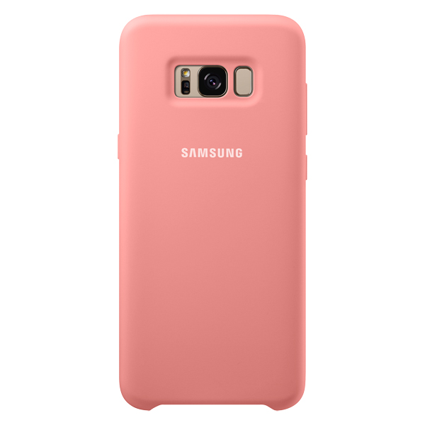 Чехол для сотового телефона Samsung Galaxy S8+ Silicone Pink (EF-PG955TPEGRU) клип кейс samsung silicone cover для galaxy s8 зеленый