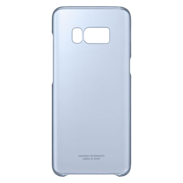 Чехол Samsung Galaxy S8 Clear Blue (EF-QG950CLEGRU)