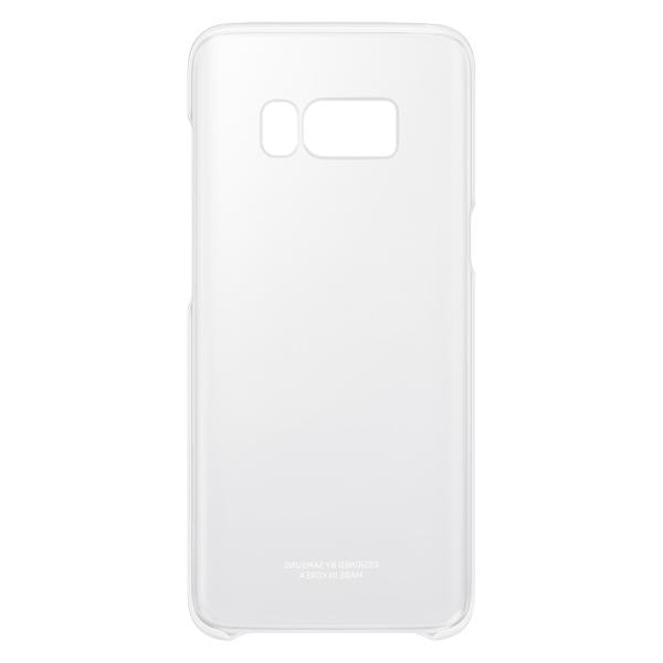 Чехол для сотового телефона Samsung Galaxy S8 Clear Silver (EF-QG950CSEGRU) чехол клип кейс samsung alcantara cover для samsung galaxy s8 розовый [ef xg950apegru]