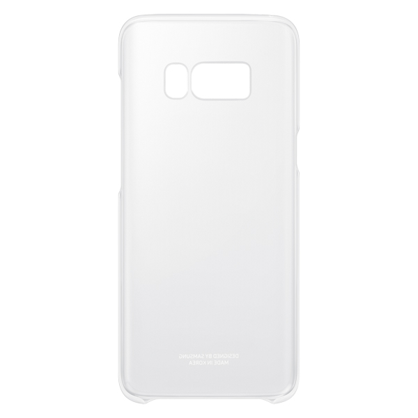 Чехол для сотового телефона Samsung Galaxy S8 Clear Silver (EF-QG950CSEGRU) клип кейс samsung silicone cover для galaxy s8 зеленый