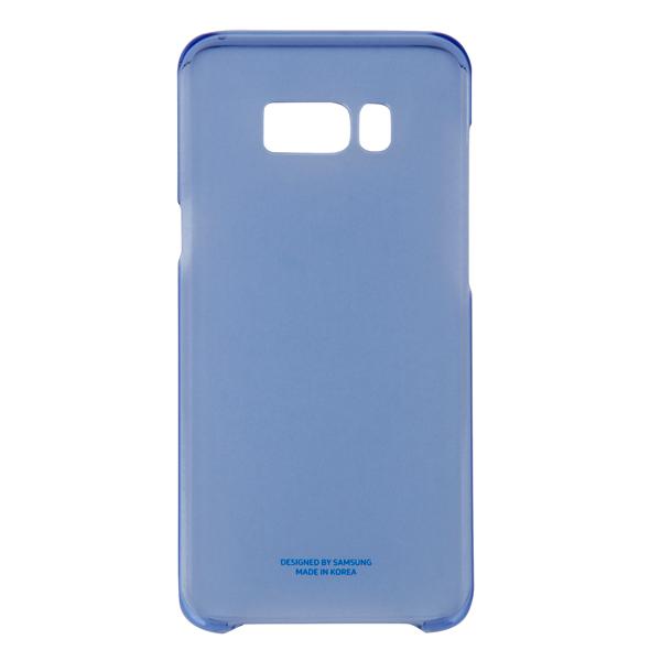 Чехол для сотового телефона Samsung Galaxy S8+ Clear Blue (EF-QG955CLEGRU) чехол клип кейс samsung alcantara cover для samsung galaxy s8 розовый [ef xg950apegru]