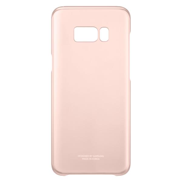 Чехол для сотового телефона Samsung Galaxy S8+ Clear Pink (EF-QG955CPEGRU) чехол для сотового телефона samsung s8 clear view standing pink ef zg950cpegru