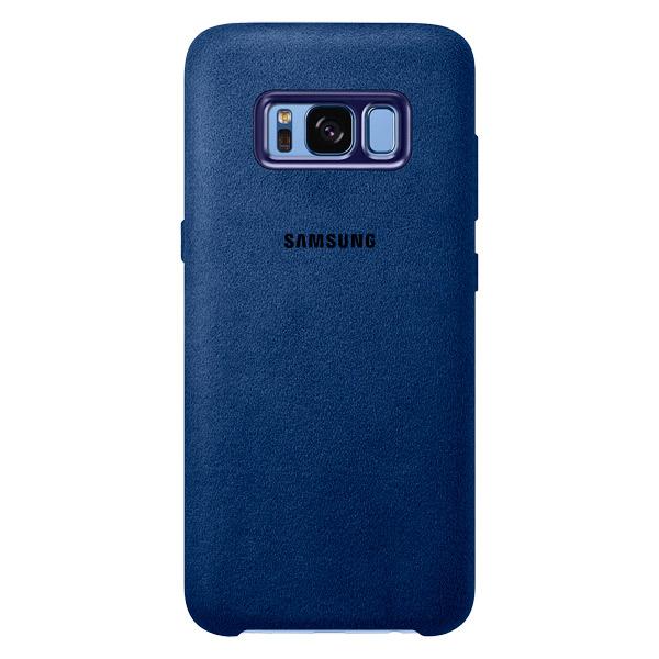 Чехол для сотового телефона Samsung Galaxy S8 Alcantara Blue (EF-XG950ALEGRU) чехол клип кейс samsung alcantara cover для samsung galaxy s8 розовый [ef xg950apegru]
